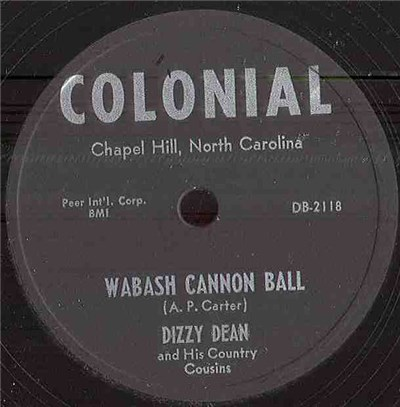 Dizzy Dean And His Country Cousins - Wabash Cannon Ball / You Don't Have To Be From The Country download mp3 flac