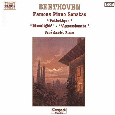 Ludwig Van Beethoven, Jenö Jandó - Famous Piano Sonatas download mp3 flac