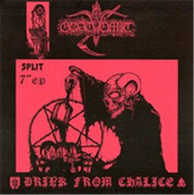 Goatvomit / Satanic Evil - Drink From The Chalice / Curse Of Pentagram download mp3 flac