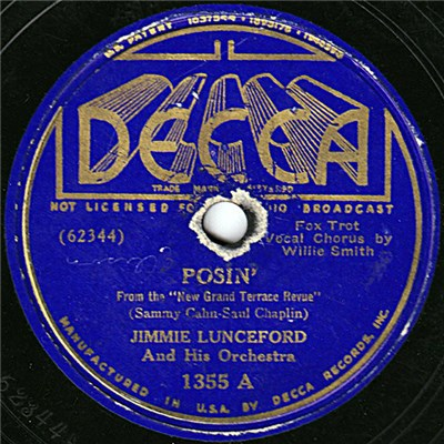 Jimmie Lunceford And His Orchestra - Posin' / Honey Keep Your Mind On Me download mp3 flac