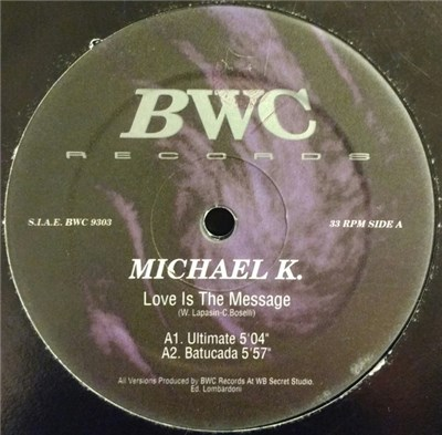 Michael K - Love Is The Message download mp3 flac