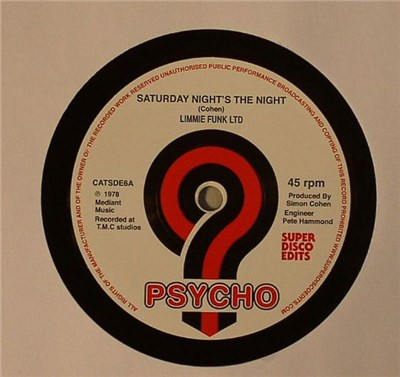 Limmie Funk Ltd - Saturday Nights The Night / Can't Turn You Loose download mp3 flac