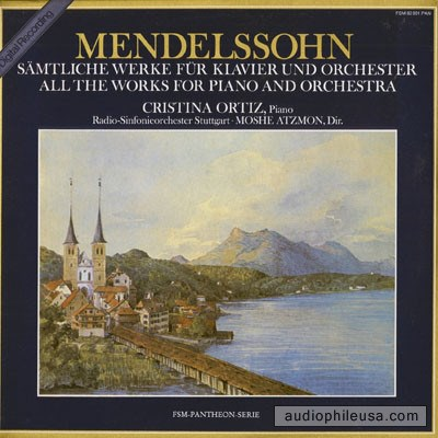 Mendelssohn - Cristina Ortiz, Radio-Sinfonieorchester Stuttgart · Moshe Atzmon - Sämtliche Werke Für Klavier Und Orchester = All The Works For Piano And Orchestra download mp3 flac