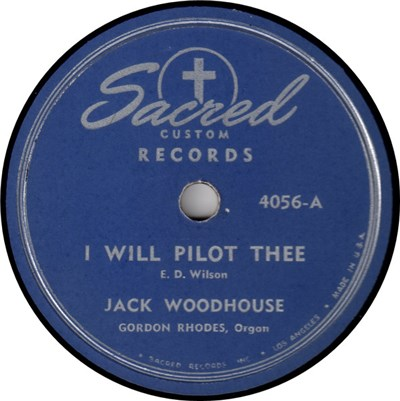 Jack Woodhouse - I Will Pilot Thee / It's Real download mp3 flac