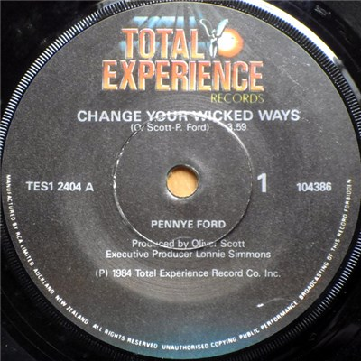 Pennye Ford - Change Your Wicked Ways download mp3 flac
