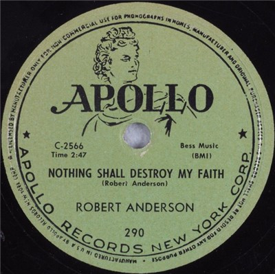 Robert Anderson - Nothing Shall Destroy My Faith / Since My Heart's Been Changed download mp3 flac