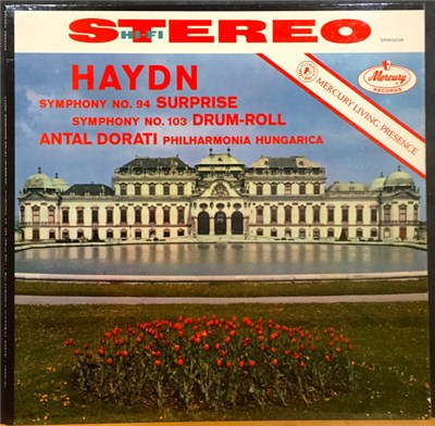 "Haydn, Antal Dorati, Philharmonia Hungarica - Symphony No. 94 ""Surprise"" · Symphony No. 103 ""Drum-Roll"" download mp3 flac"