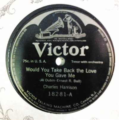 Charles Harrison - Would You Take Back The Love You Gave Me / If You Had All The World And Its Gold download mp3 flac