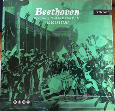 Beethoven – George Hurst Conducting The Royal Danish Orchestra - Symphony No. 3 In E Flat Op. 53 - 'Eroica' download mp3 flac