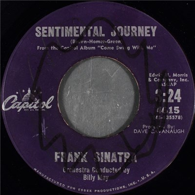Frank Sinatra - Sentimental Journey download mp3 flac