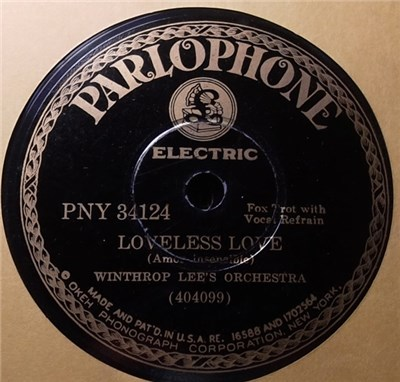 Earl Marlow's Orchestra / Winthrop Lee's Orchestra - I'm Doing That Thing / Loveless Love download mp3 flac