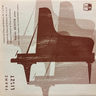 Sviatoslav Richter, Kiril Kondrashin - Liszt Concerto For Piano And Orchestra No.1 in E-Flat, Hungarian Fantasia, Concert For PIano And Orchestra No. 2 in A download mp3 flac