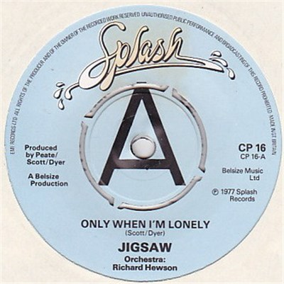 Jigsaw - Only When I'm Lonely download mp3 flac