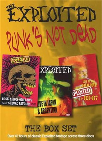 The Exploited - Punks Not Dead The Box Set download mp3 flac