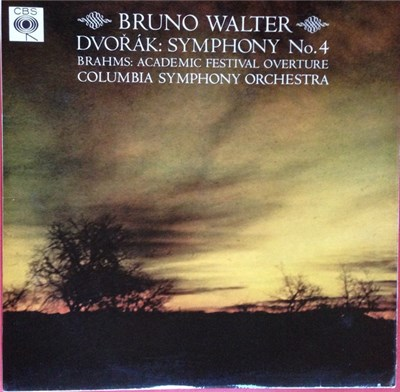 Dvorak, Brahms, Bruno Walter, Columbia Symphony Orchestra - Symphony No. 4 / Academic Festival Overture download mp3 flac