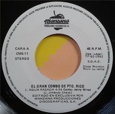 El Gran Combo - Agua Pasada download mp3 flac