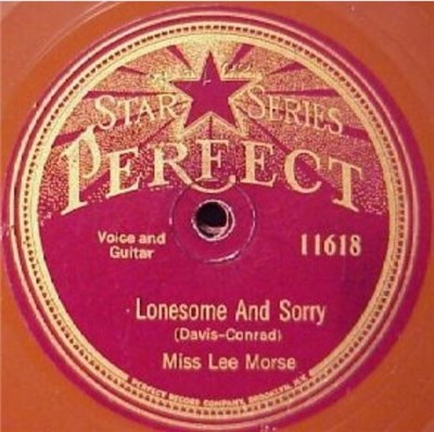 Miss Lee Morse And Her Blue Grass Boys / Miss Lee Morse - Lonesome And Sorry / A Little Love download mp3 flac