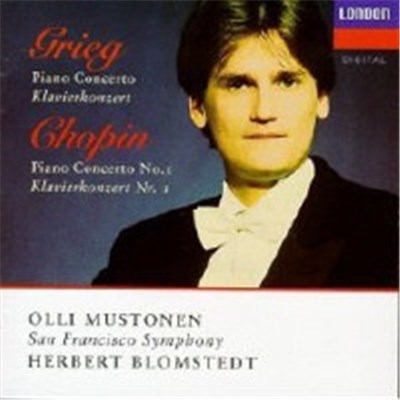 Grieg / Chopin, Olli Mustonen, San Francisco Symphony, Herbert Blomstedt - Piano Concertos download mp3 flac