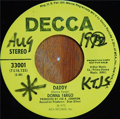 Donna Fargo - Daddy / Sticks And Stones download mp3 flac