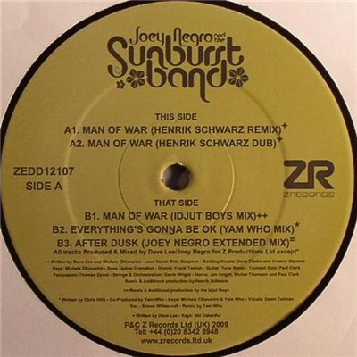 Joey Negro and The Sunburst Band - Man Of War download mp3 flac