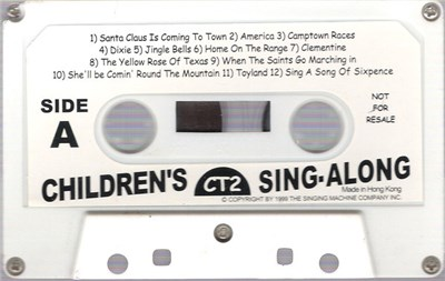 Unknown Artist - Children's Sing-Along download mp3 flac