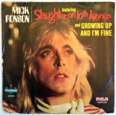 Mick Ronson, Dana Gillespie - Slaughter On Tenth Avenue download mp3 flac