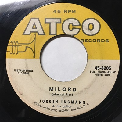 Jorgen Ingmann & His Guitar - Milord / Oceans Of Love download mp3 flac